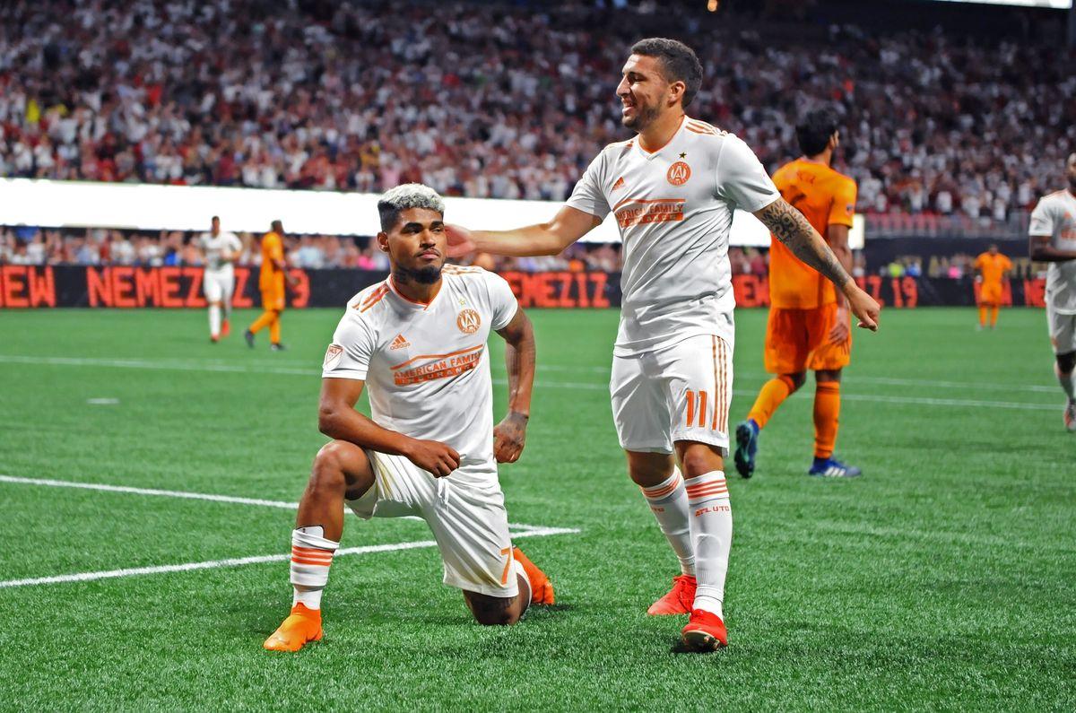 SOCCER: JULY 17 MLS - Houston Dynamo at Atlanta United FC