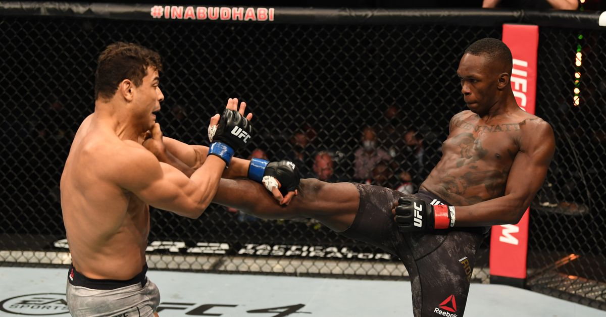 UFC full fight video: Israel Adesanya vanquishes rival Paulo Costa with second-round TKO