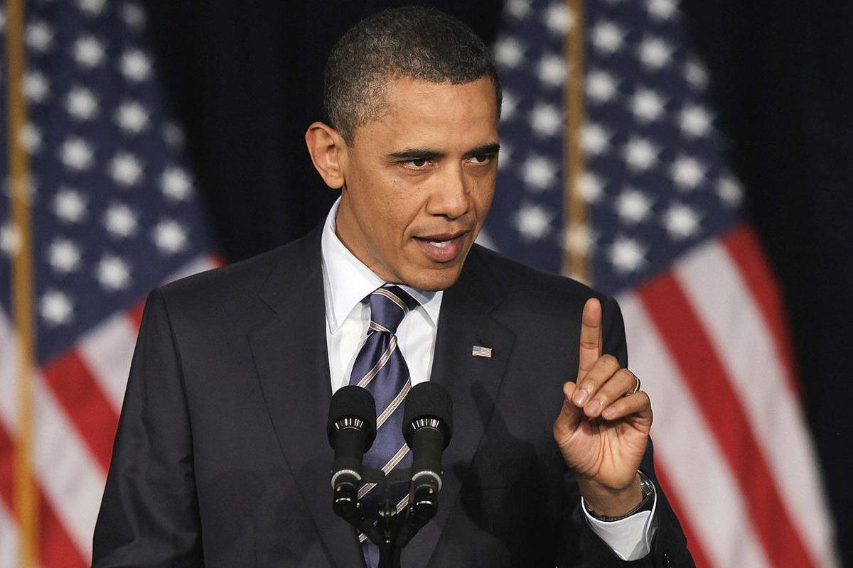 In this President Barack Obama outlines his fiscal policy during an address at George Washington University in Washington. Obama said in April that he wants to do away with tax breaks to lower the rates and to reduce government borrowing. His proposal wou