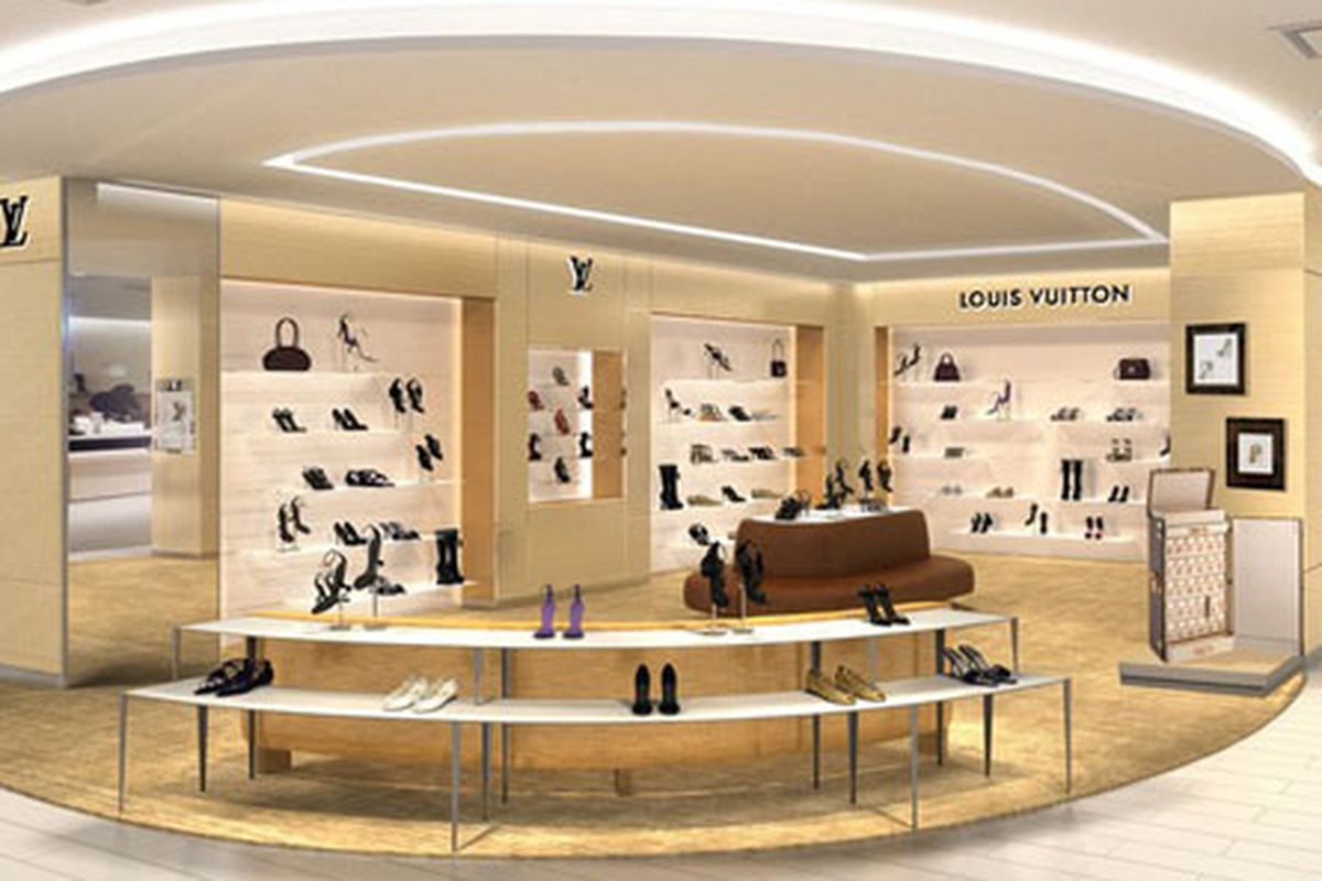 5c8ede22250 Louis Vuitton Will Open a Shoe Salon Inside Saks Fifth Avenue ...