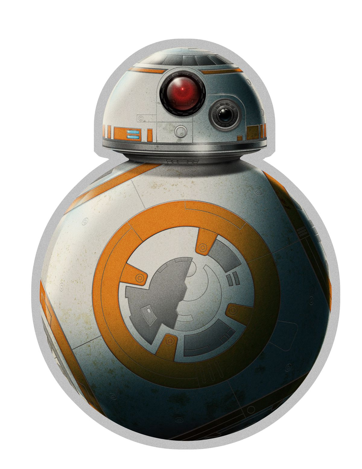 Front of the BB-8 menu