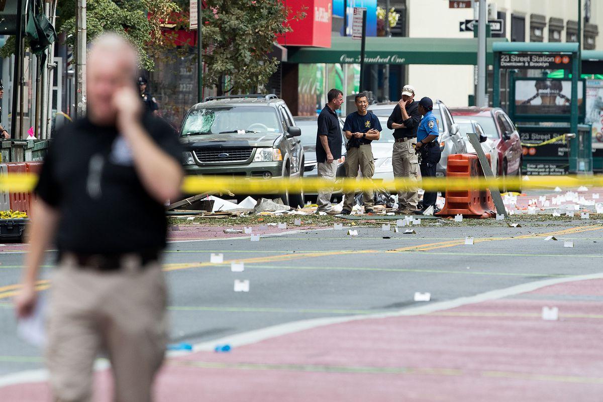 Explosion In Chelsea Neighborhood of New York City Injures 29