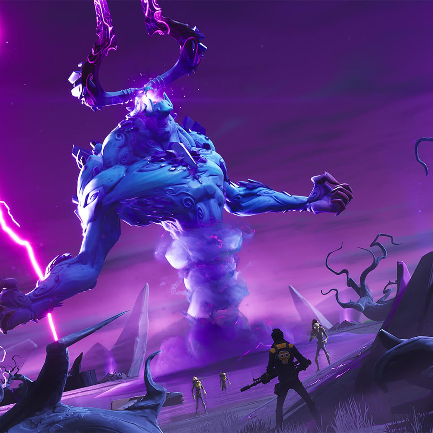 Fortnite Save The World Notendo Switch Fortnite Save The World Is Getting Its Biggest Toughest Boss Later This Year Polygon
