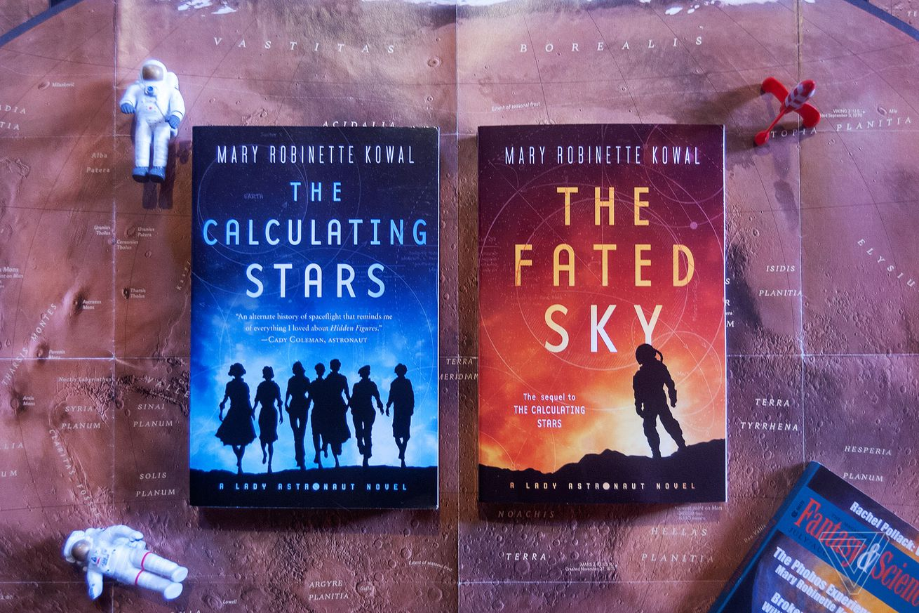 return to an alternate history space race with two new lady astronaut novels