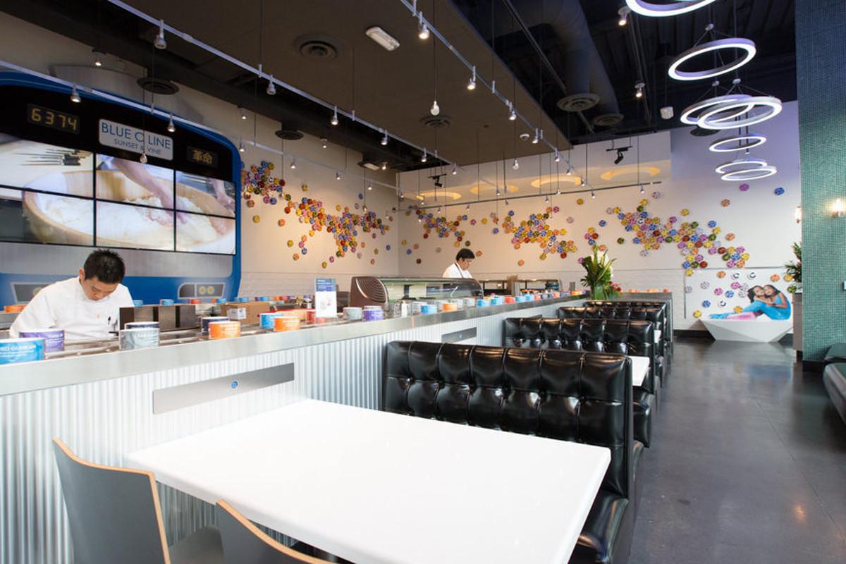 Blue C Sushi, Los Angeles