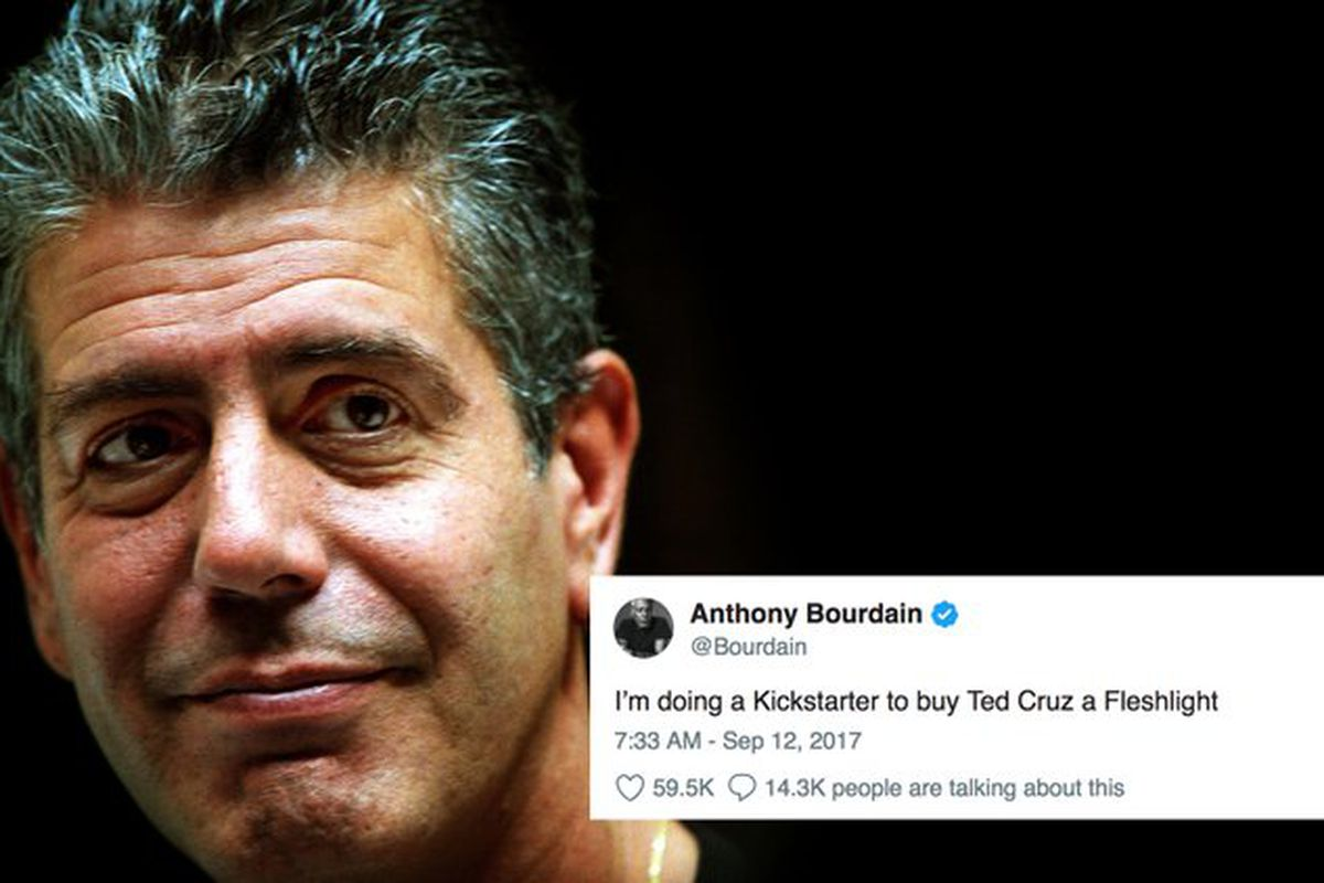 29b0894e6 Anthony Bourdain's Funniest And Most Memorable Moments - Funny Or Die