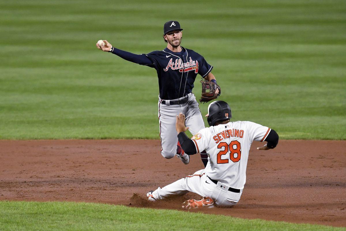 MLB: SEP 15 Braves at Orioles