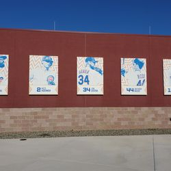 New banners at Sloan Park