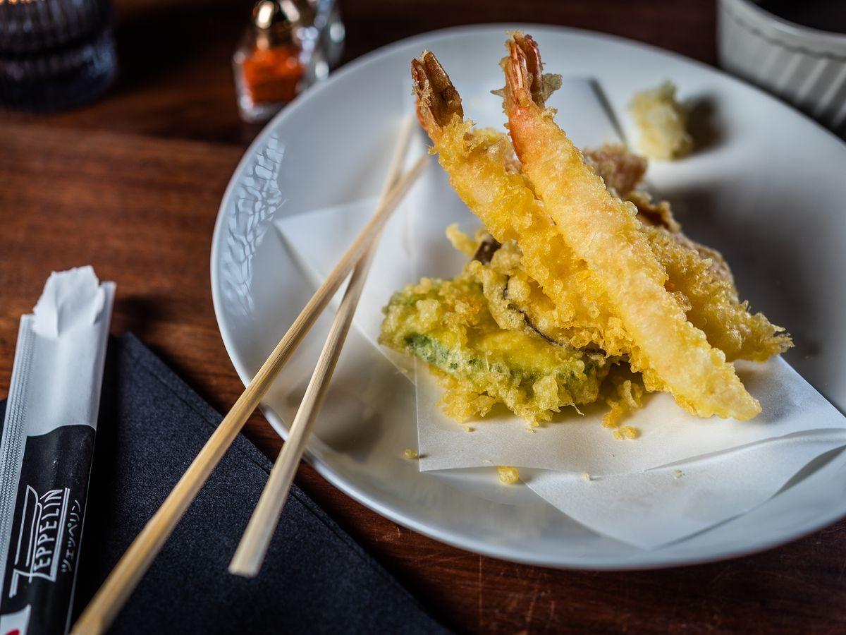 Zeppelin tempura
