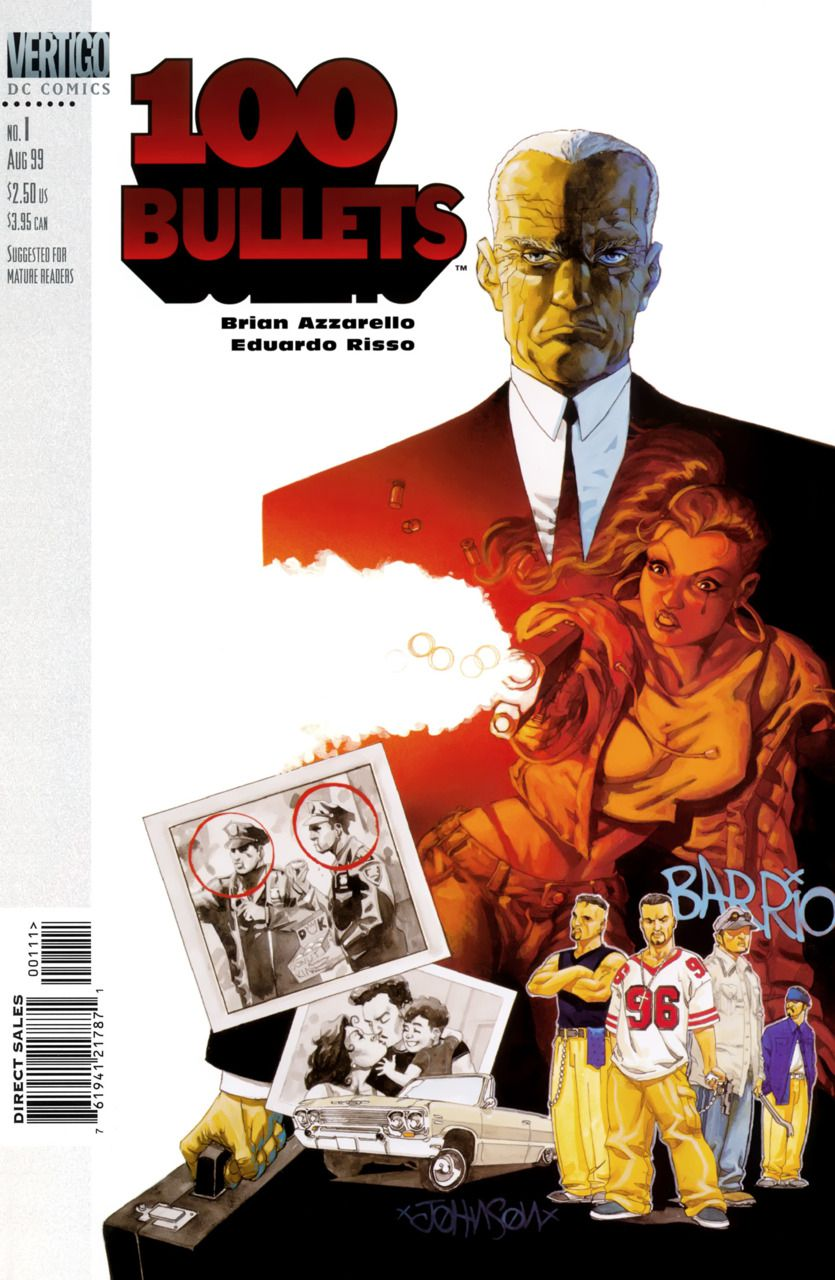 100 Bullets 1 Cover