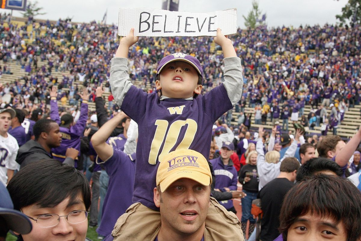 How much do you believe in your Huskies in 2015?