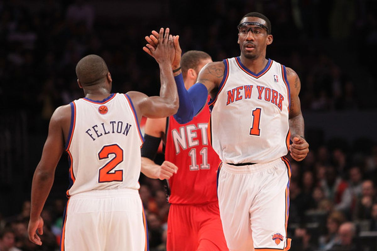 The Raptors need to slow down the suddenly formidable combo of Felton and Stoudemire...