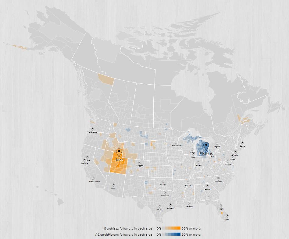 2015 2016 Fanbase Map Detroit Utah