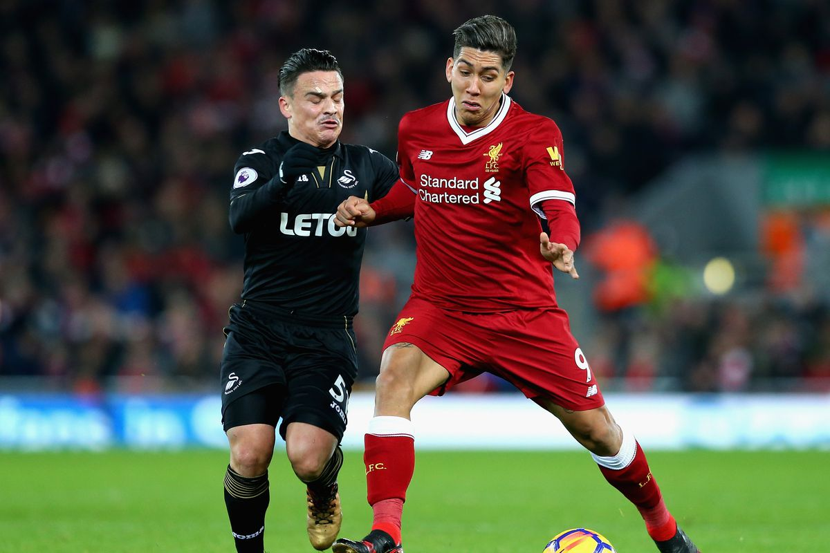 Liverpool v Swansea City - Confirmed lineups - Klopp fields full strength attack