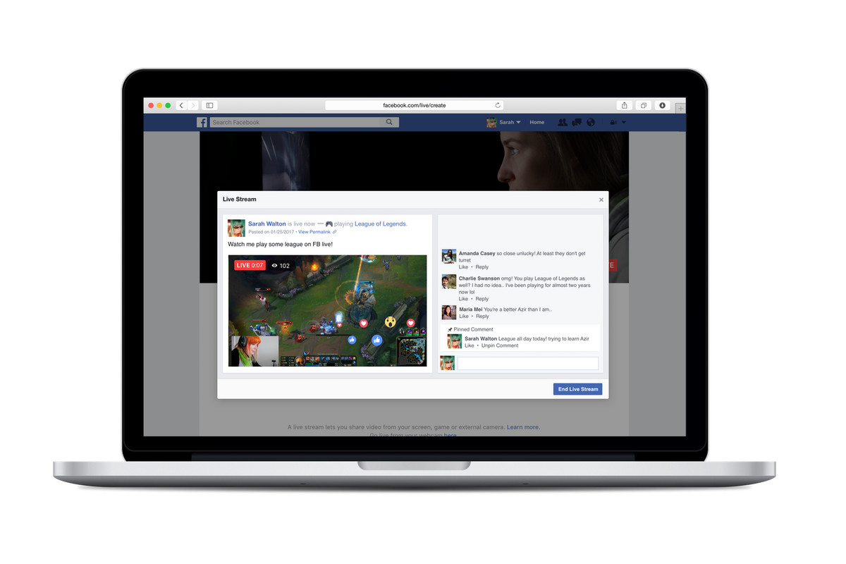 Facebook It: Facebook Now Lets You Broadcast Live Video From A PC