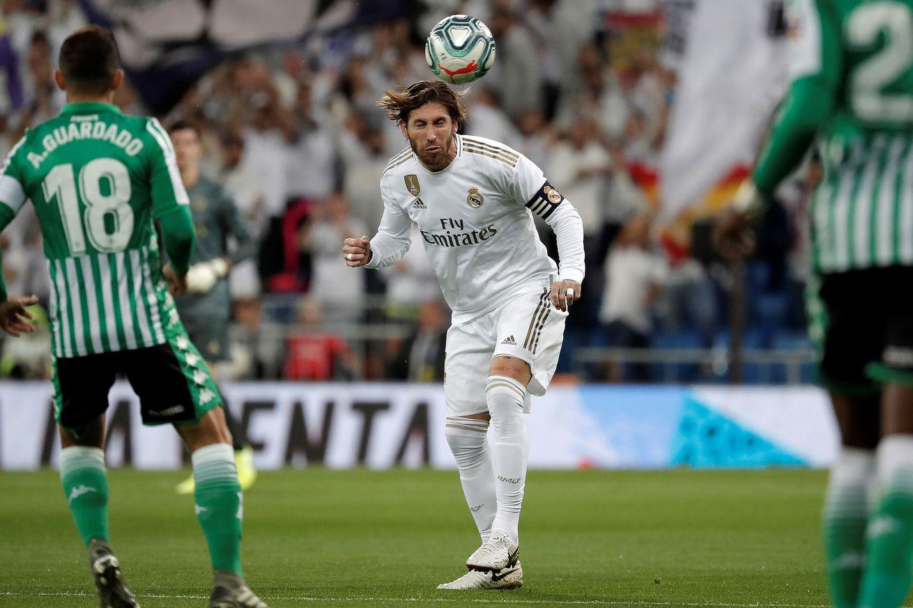 Tactical Review: Real Madrid 0 - Real Betis 0; 2019 La Liga