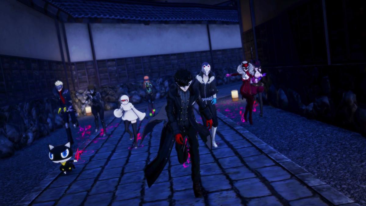 Phantom Thieves in the metaverse in Persona 5 Strikers