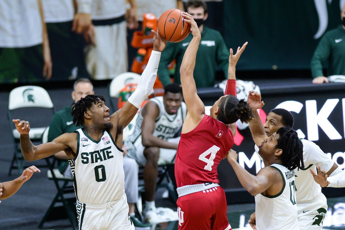 COLLEGE BASKETBALL: MAR 02 Indiana at Michigan State