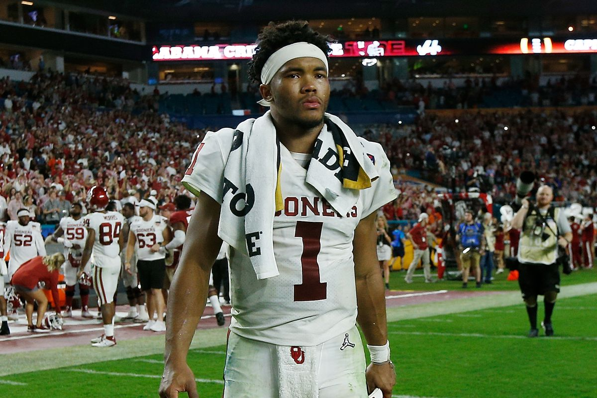low priced f8fe2 4f7c5 Kyler Murray declares for NFL Draft: Why QB has leverage ...