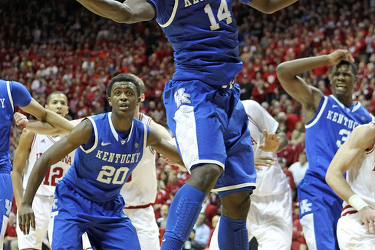 Freshman Michael Kidd-Gilchrist has been Kentucky's best player the last two games.