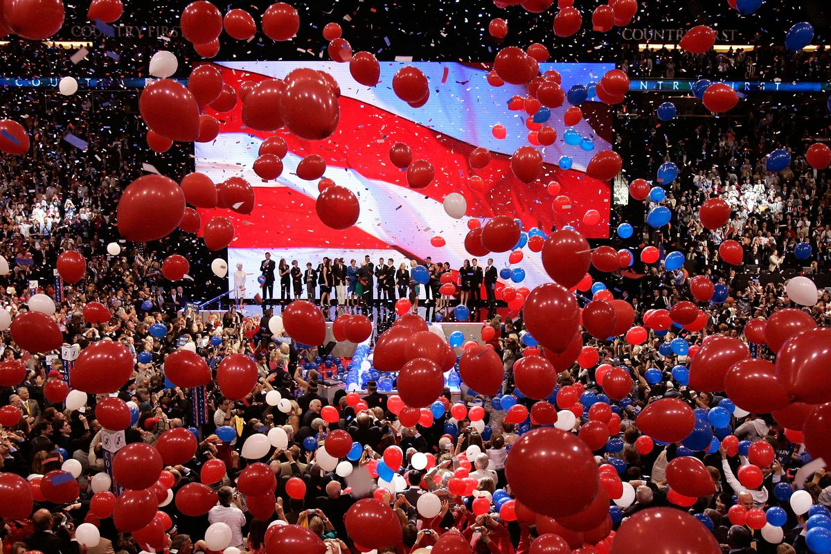 More than 800 protesters were arrested at the 2008 GOP convention in St. Paul, Minnesota.