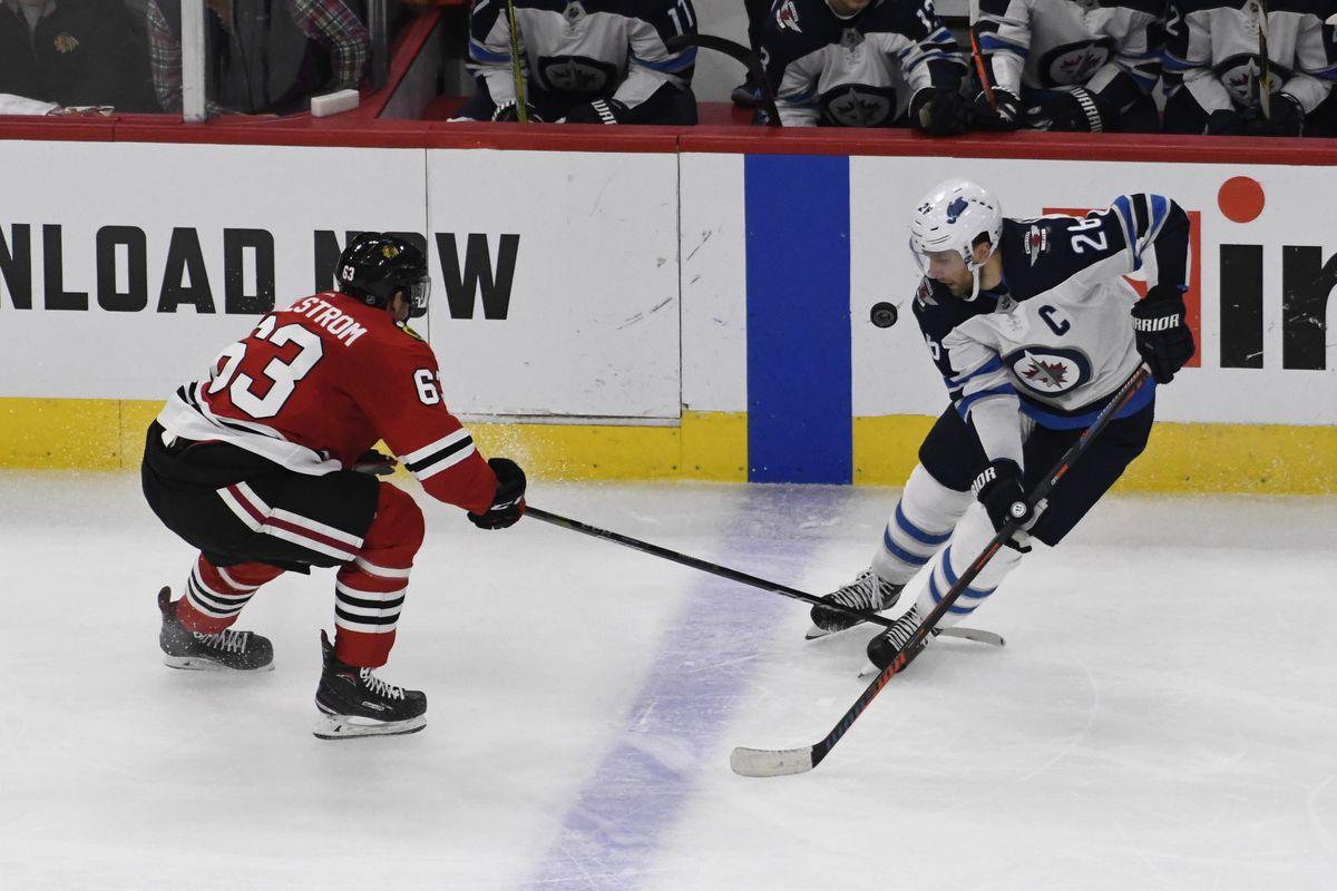 NHL: Winnipeg Jets at Chicago Blackhawks