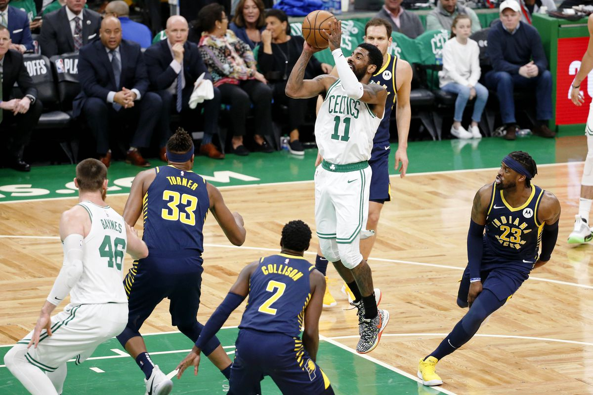 19cb73221edb Celtics vs. Pacers  Kyrie Irving in the NBA Playoffs really is that ...