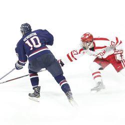 UConn Huskies vs Boston University Terriers