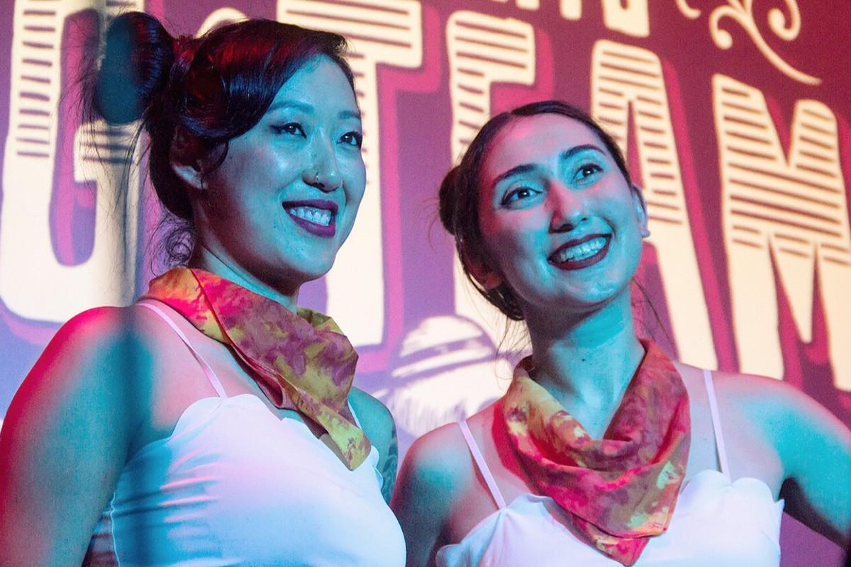 Sharon Yeung and Caer Maiko