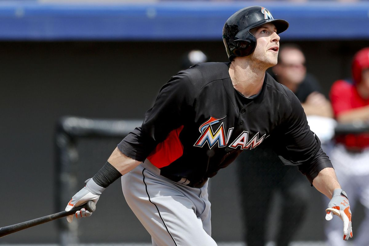 The Marlins will bring back first baseman Joe Mahoney to see if he will fit in this punch-less lineup.