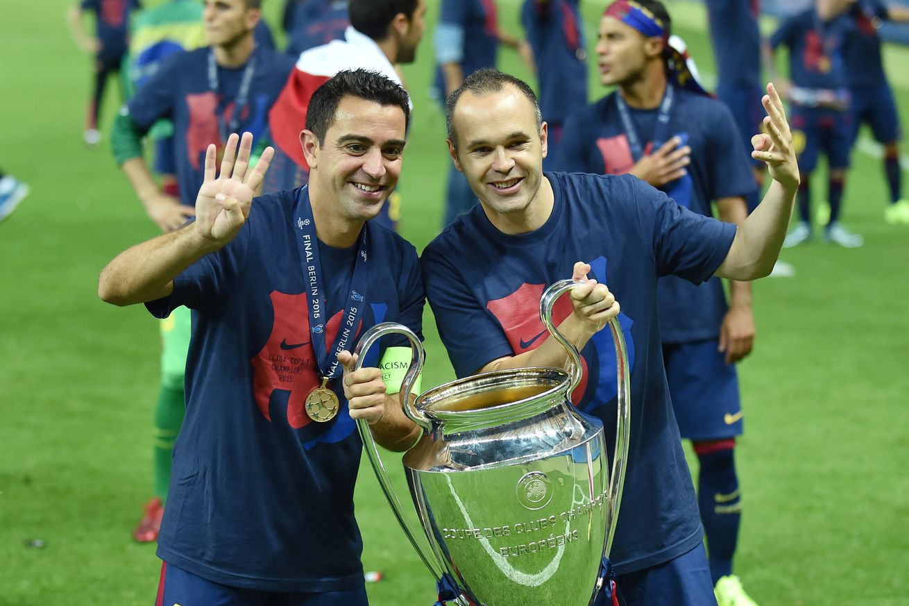 Iniesta: Coaching Barca  with Xaxi ?doesn?t sound bad at all?