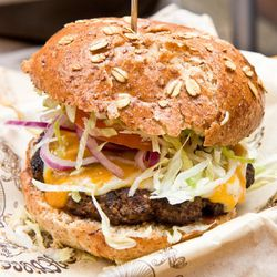 """Bareburger by <a href=""""http://www.flickr.com/photos/37601286@N06/6213920007/in/pool-eater/"""">gsz</a>."""