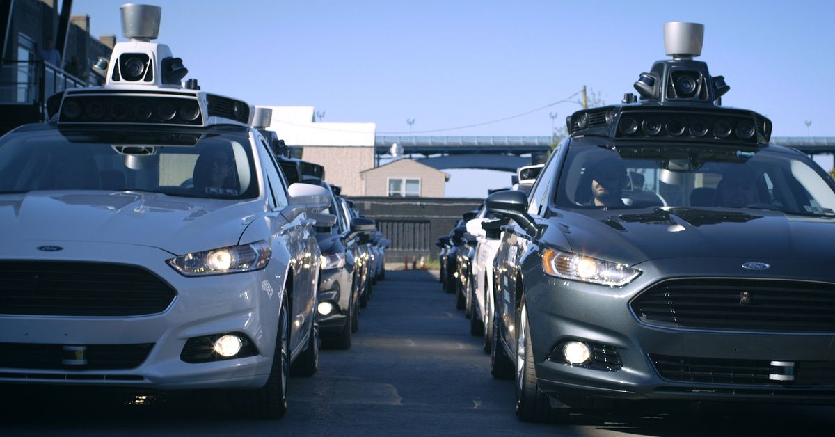 photo image Uber laid off its self-driving car safety drivers in Pittsburgh