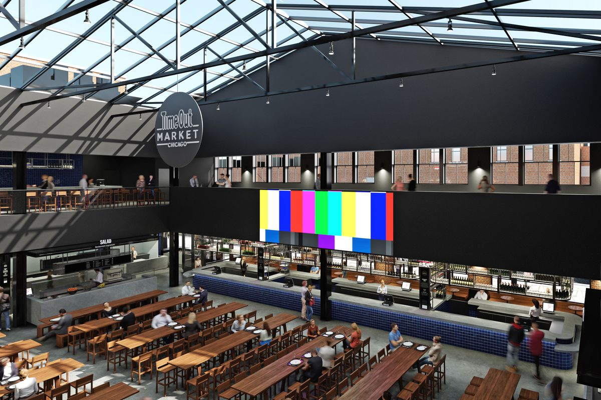 Time Out Market Chicago Food Hall to Feature 18 Acclaimed