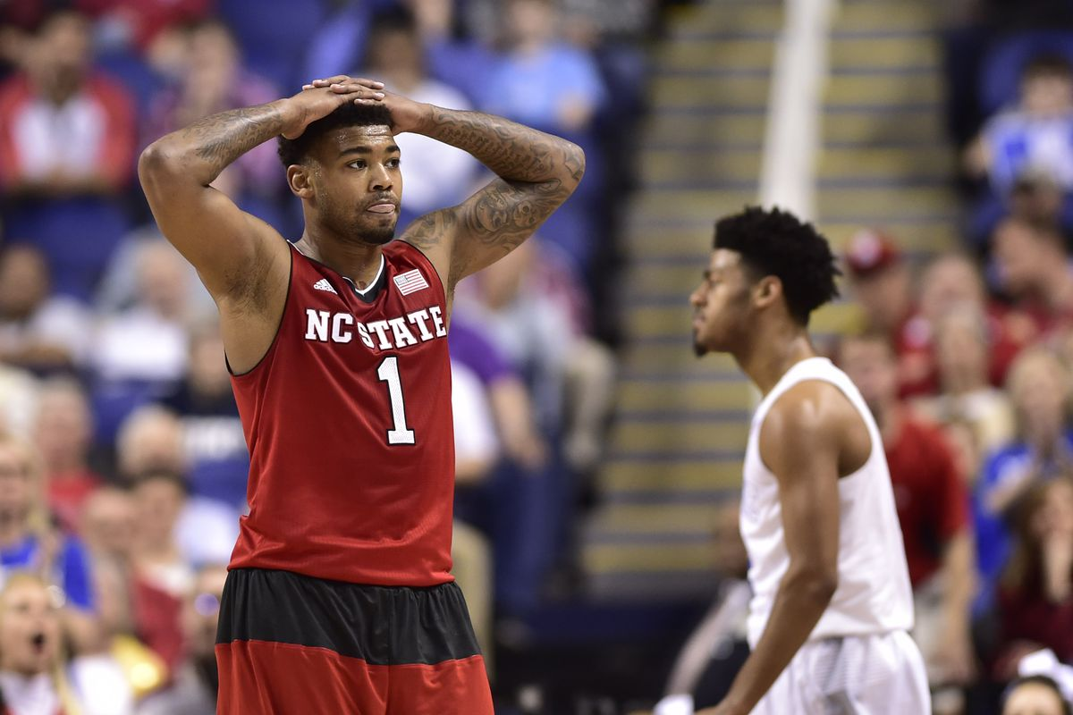 Trevor Lacey (front) and Quinn Cook (back)