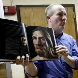 Dr. Michael Whiting teaches an evolutionary biology class at BYU in Provo on Friday, March 30, 2012.