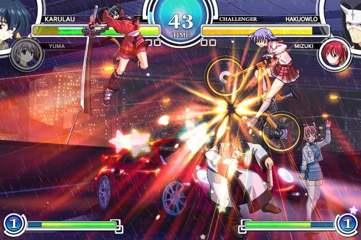 AquaPazza The 2D Anime Style Fighting Game From Developers Examu And Aquaplus Will Come To PlayStation 3 On Nov 19 In North America Publisher Atlus