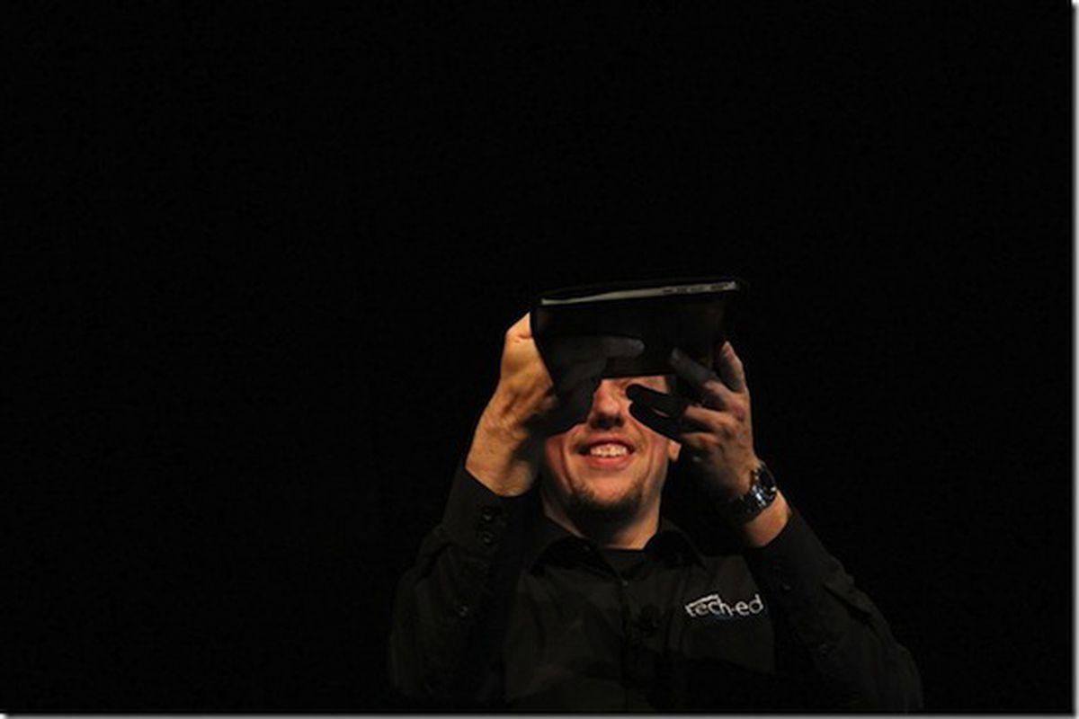 Microsoft tablet teaser