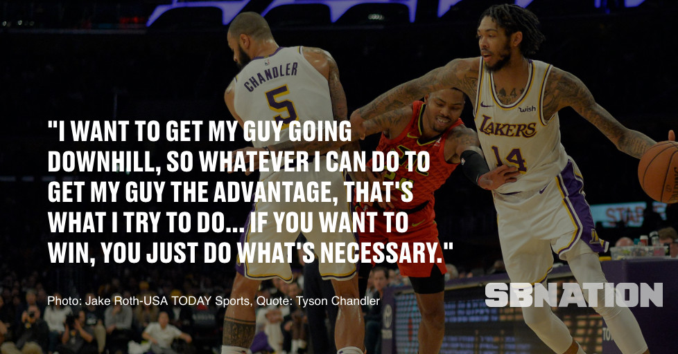 4ff8cc49991 Tyson Chandler has become one of the NBA s best screeners since joining  Lakers   If you want to win