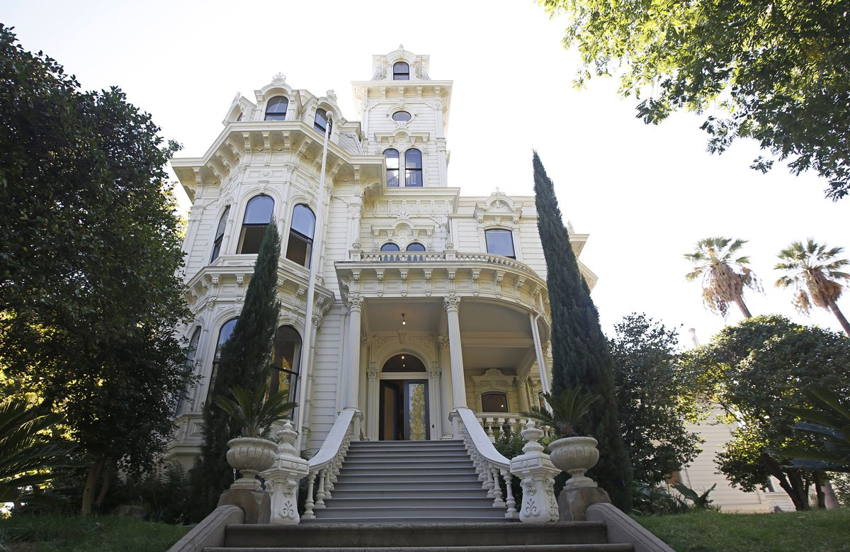 exterior shot of the governor's mansion