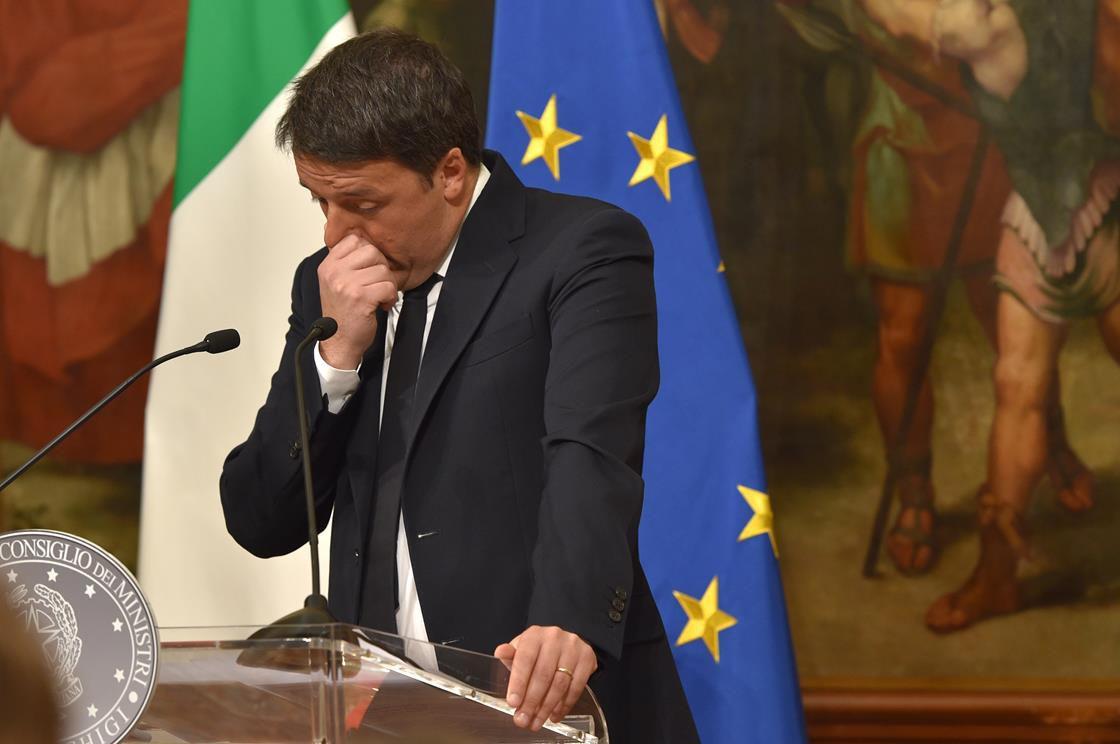 Unhappy Matteo Renzi