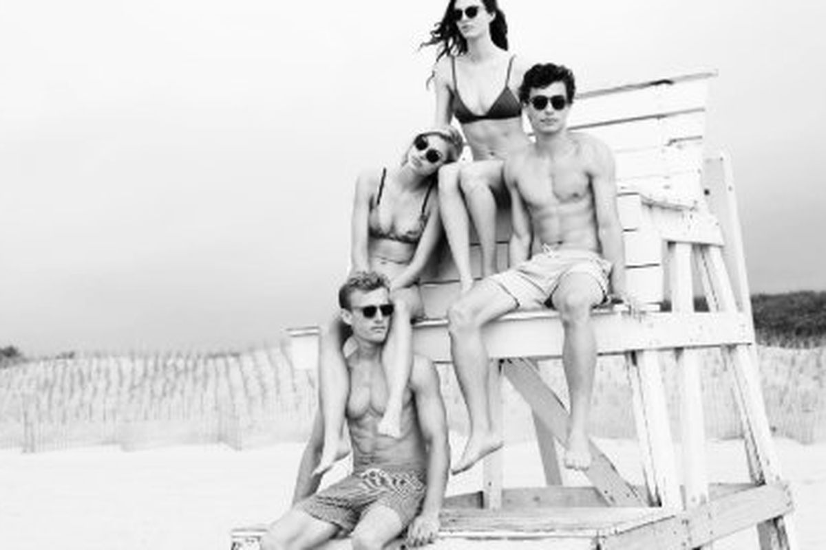 """Image via <a href=""""http://www.solidandstriped.com/pages/resort-2014-east-hampton-ny"""">Solid &amp; Striped</a>"""