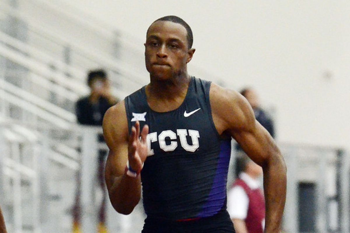 Ronnie Baker is good at running fast.