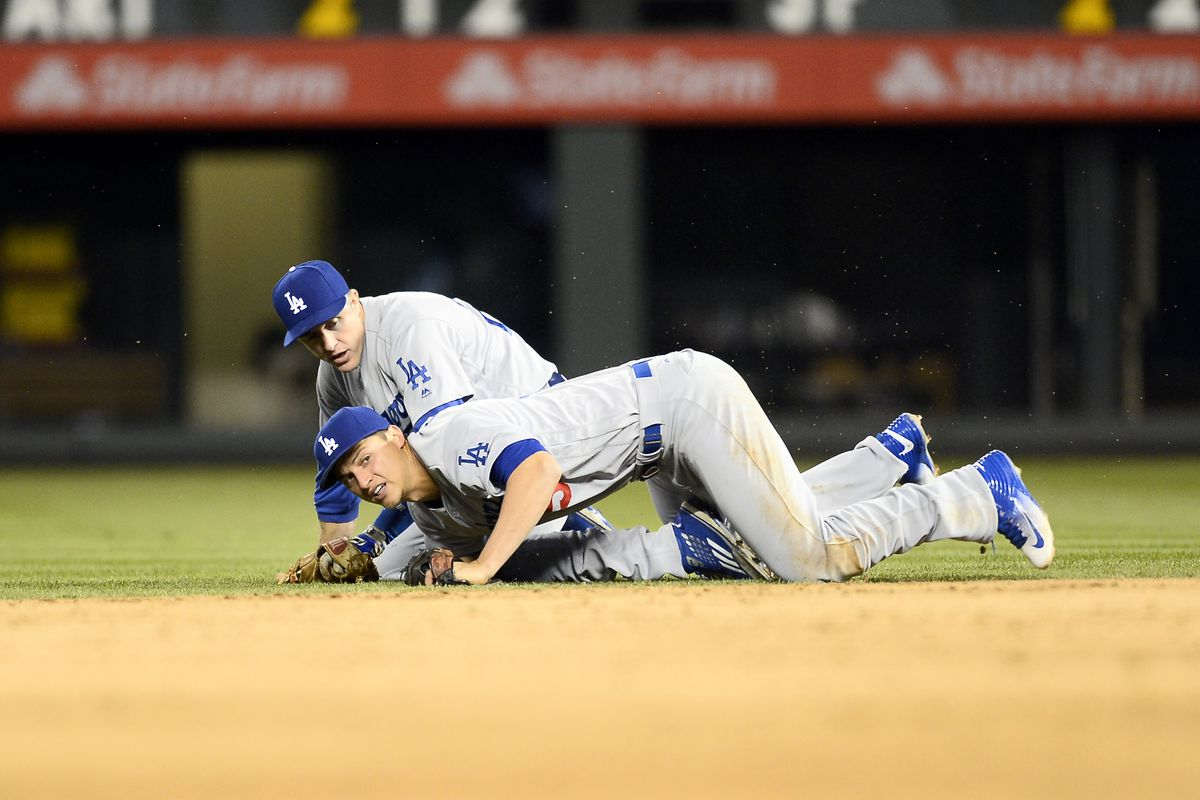 Chase Utley and Corey Seager have the most plate appearances in the first inning for the Dodgers this season.