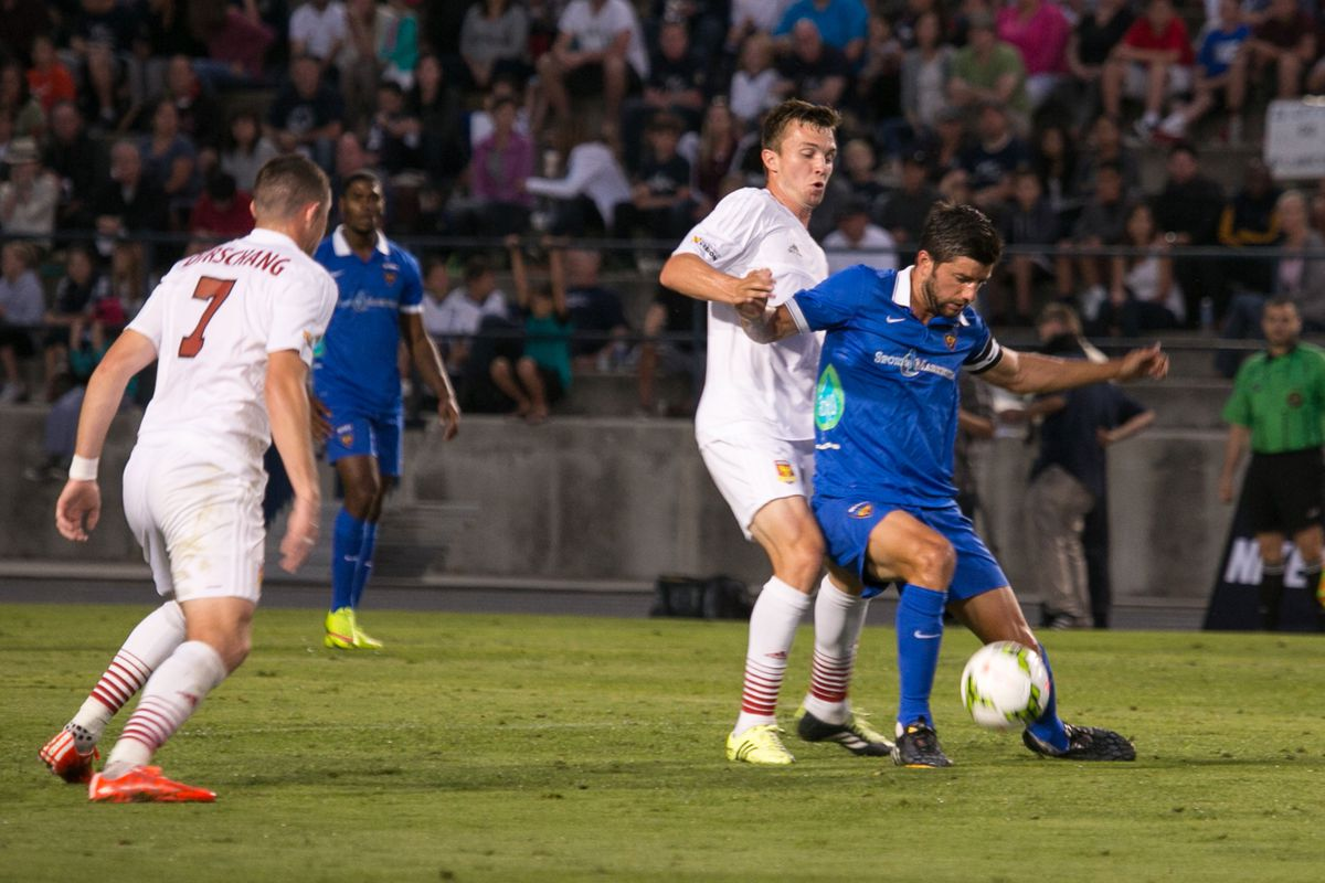 Blues, United square off once more at Anteater Stadium on Saturday.