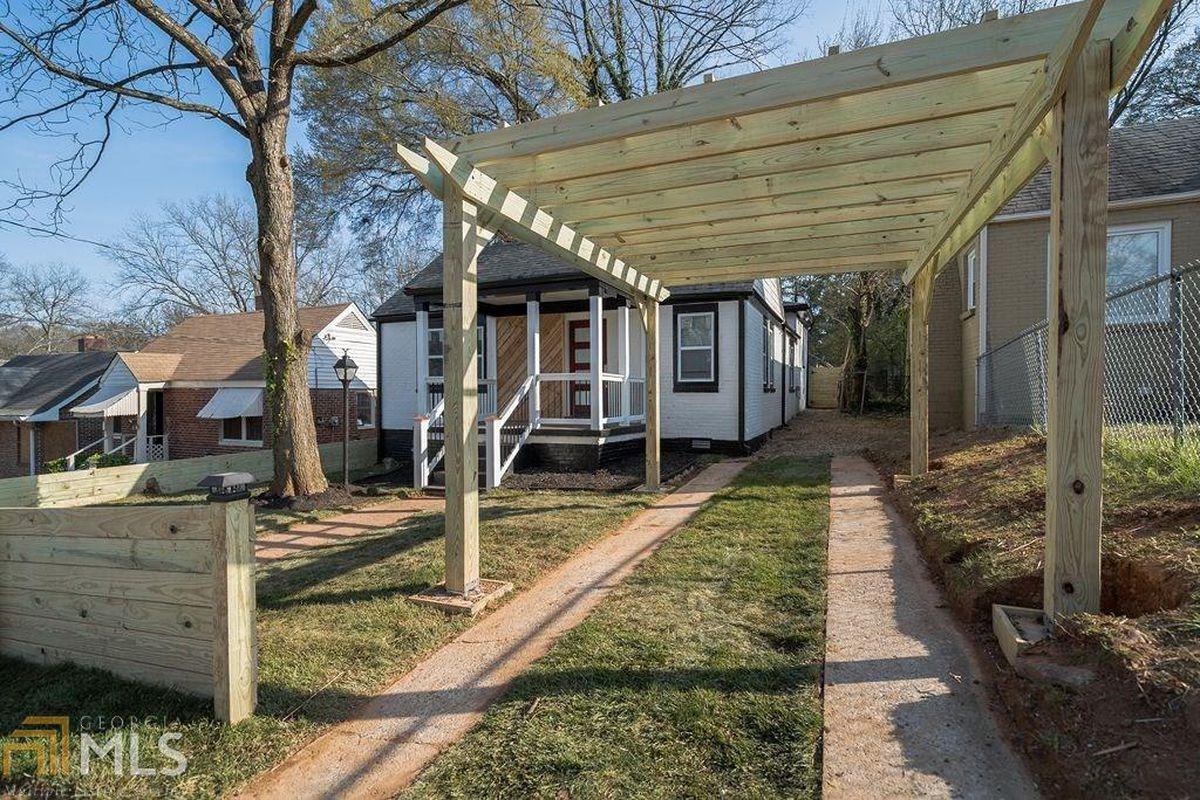 A renovated bungalow near West End, Atlanta.