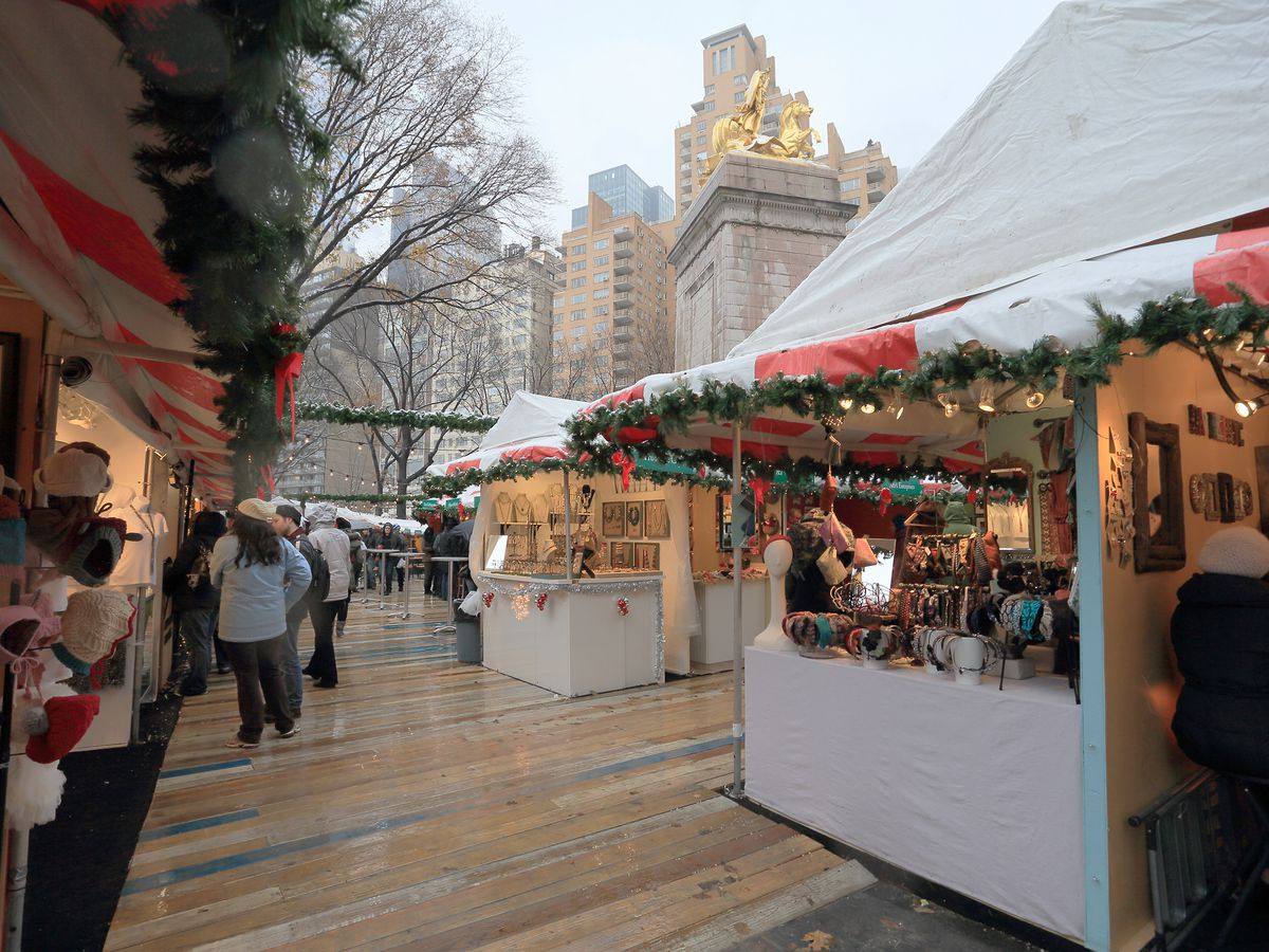 Christmas Market New York City.Christmas In New York The Best Nyc Holiday Markets Curbed Ny
