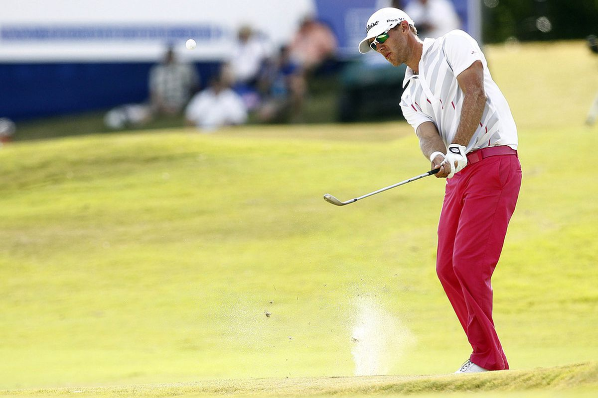 2013 Crowne Plaza Invitational leaderboard: Graham DeLaet tops rain-delayed Round 2