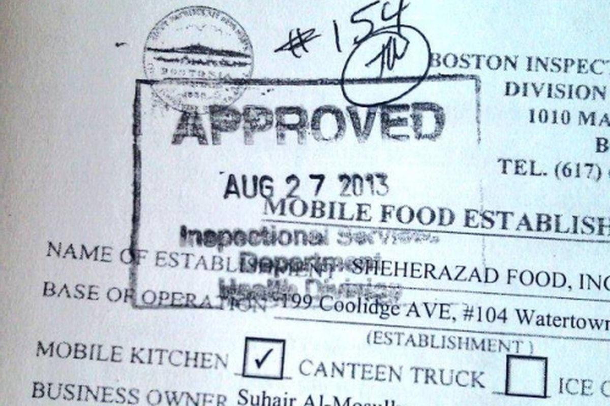 Food Truck License In New York
