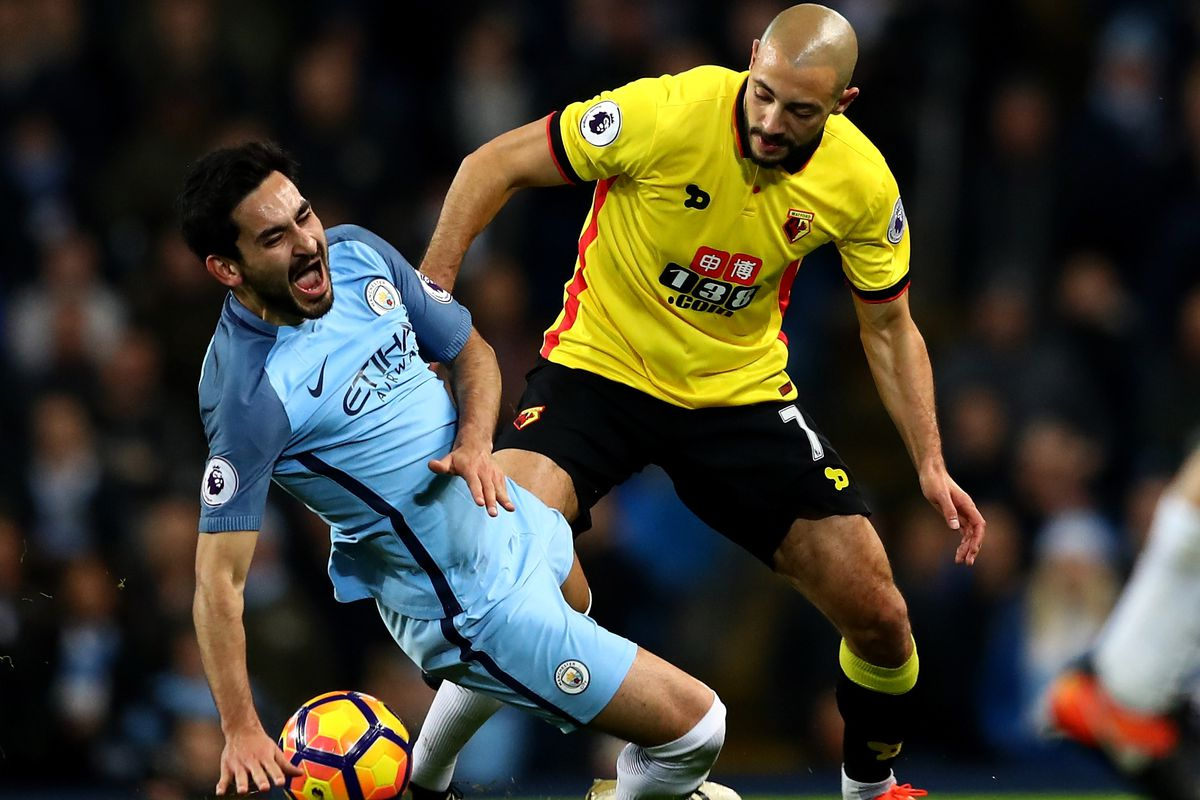 Manchester City extremely thin in midfield after Ilkay Gündogan
